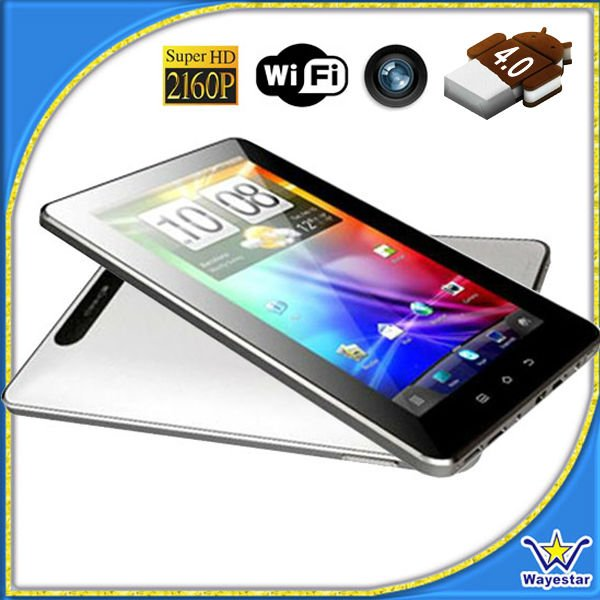 ... Old items > Slim Tablet Android 4.0 with 7'' capacitive touch screen