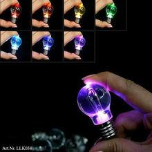 Colourful LED Flashing Keychain