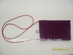 2012 fashionable velvet gift bag