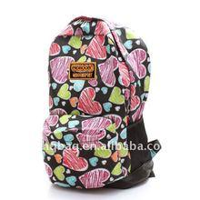 heart nylon backpack