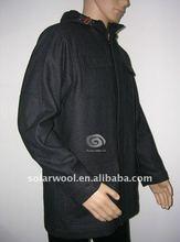 Men's woolen winter running jacket