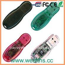 Hotsale Transparent USB 8GB 16GB