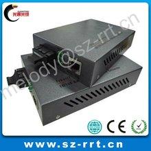 RJ45 Port 1000 Base 20KM Ethernet Fiber Media Converter