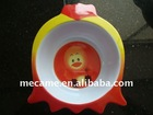 C3033 Melamine CHICK Shape BOWL L17*W14*H4.5cm /95G/animal shape/snack bowl