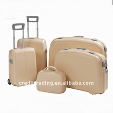 5 pcs sets pp suitcase with locks