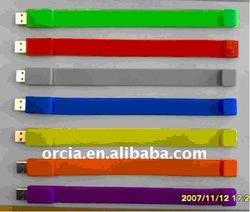 OEM 2GB 4GB 8GB 16GB 32GB bracelet USB flash drive (ORU-F0012)