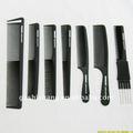 corte de cabelo profissional de salão de pente pente de carbono