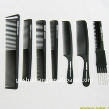 professional hair cutting comb salon carbon comb