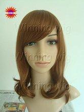short straight pear head style kanekalon high temperature fiber wig NYSWIG-252