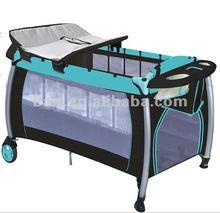 2014 new design travel cot- BLUE
