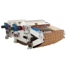 two roller cotton/garment waste processing machine