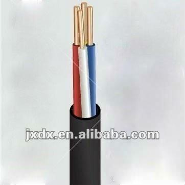 Hilos eléctrica sólido tipo de cable de cobre 6mm2
