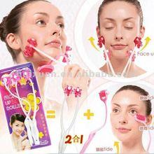 Health tools Facial Massager 2in1 facial massage Roller face beauty massaging tool