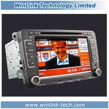 7 Inch 2 Din Touch Screen Car GPS Navigation For For VW Satitar/Golf VI/V, R36, Jetta,Scirocco, Tiguan, Touran, Passat