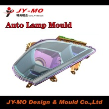 Auto light plastic parts mould quote with quick response