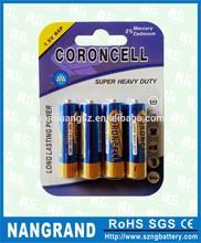 Carbon aa battery r6p 1.5v um3
