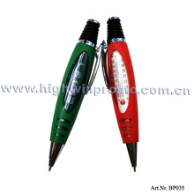 Promotional Ballpoint Pen With Thermometer