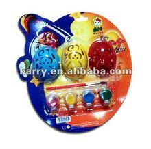 Easter plastic egg paint