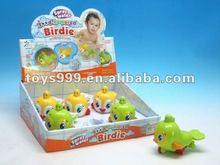 mini plastic animal toy live birds