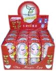 Magic egg.Face egg.Canned magic egg plant