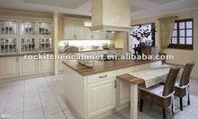 America Standard White Solid Wood kitchen cabinet