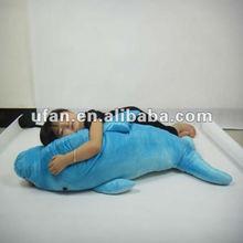 plush pillow toy sea animal pattern