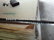 Transparent and thick acrylic glass backboard