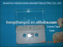 audio cassette(milk housing) plastic media packaging