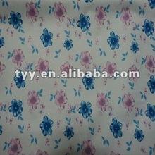 polyester pongee waterproof fabric print