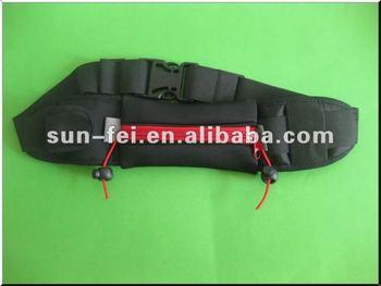 Running Gear, Race Number Belt with Neoprene Pouch~Waist Belt Pack, Neoprene Pouch Belt, Waist Belt Pack/Bag/Pouch/Holder