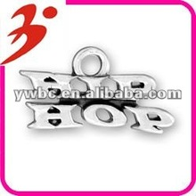 2013 newest alloy jewelry hip hop letters charm (184857)