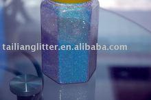 USA rainbow glitter powder kg
