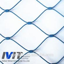 MT stainless steel ferrule rope wire mesh