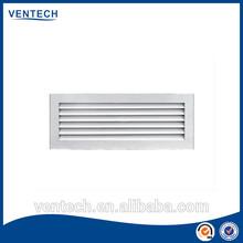 Aluminum air vent door grille