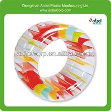 colorful inflatable garden fun roller wheel