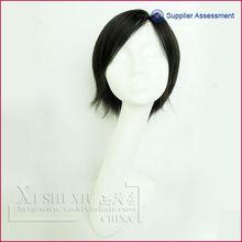 A venda quente do cabelo humano curto perucas femininas no alibaba para venda