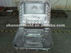 Cast aluminium rotational mould,OEM service