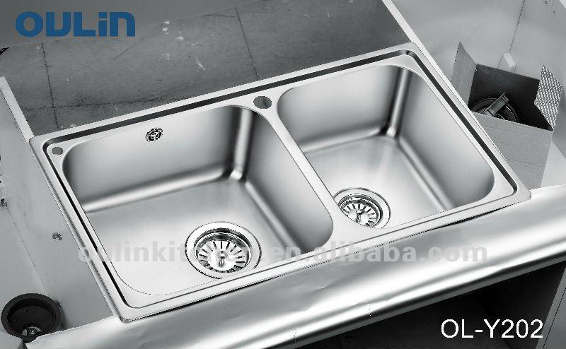 sink manufacturer kitchen sinks stainless steel (OL-Y202), View sink ...