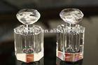diamond head crystal perfume containers, perfume bottle