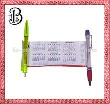 2013 New Calendar banner pen