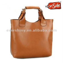 Vintage Celebrity Tote Shopping Bag It bag handbags 2012 Brand New Yellow Pu Leather