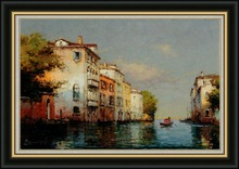 2012 new scenery oil painting