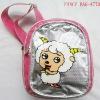 Cartoon child one shoulder bag