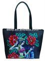 Popular oriental bolsa das senhoras,impresso floricon sacola, d681a110028