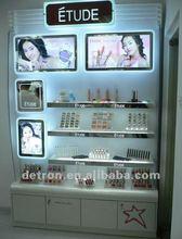 2012 Wood Cosmetic Display Stand for eye shadow/mascara/foundation custom design
