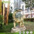 De fibra de vidrio escultura dinosaurio decorativo