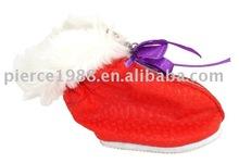 fashion high quality red mini dog's shoe