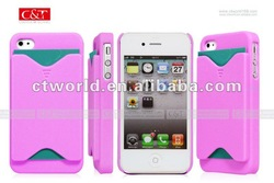 Rose ID Name Business Credit Cards Hard Sink Fancy Case Cover For iPhone 4G 4S