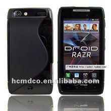 S Line TPU cell phone case For Motorola RAZR xt910 case