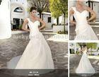2014 Chiffon Patterns One-Shoulder Wedding Gown